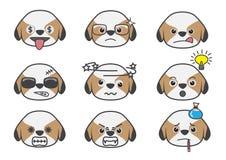 Tsi Zhu kreskówka emotion07 Zdjęcie Stock