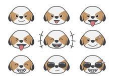 Tsi Zhu kreskówki emocja 01 Obraz Royalty Free