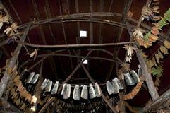 Tsiionhiakwatha Droulers Archeologiczny miejsce Quebec, Kanada - Zdjęcie Stock