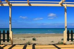 Tsilivi beach Zakynthos Stock Image