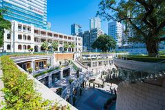 Tsim Sha Tsui, Гонконг - 10-ое января 2018: Наследие 1881, Стоковое Фото