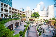 Tsim Sha Tsui, Гонконг - 23-ье сентября 2016: 1881 наследие, Th Стоковое Фото