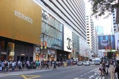 Tsim Sha Tsui Stock Foto