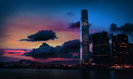 Tsim Sha Tsui Royalty Free Stock Photo