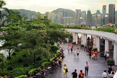 Tsim Sha Tsui Stockfoto