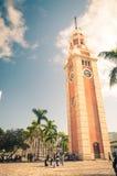 Tsim Sha Tsui Clock Tower Royalty-vrije Stock Fotografie
