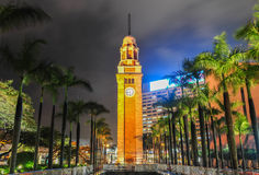 Tsim Sha Tsui Clock Tower, Hong Kong royalty free stock photography