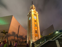 Tsim Sha Tsui Clock Tower, Hong Kong Stock Photography