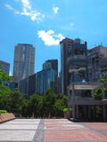 Tsim sha tsui East. In Hong Kong Kowloon royalty free stock images