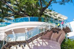 Tsim Sha Tsui, Hong Kong - 10 de enero de 2018: Herencia 1881, Imagen de archivo libre de regalías