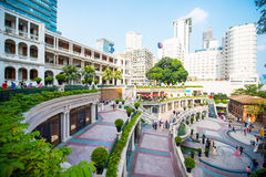 Tsim Sha Tsui, Hong Kong - 23 de setembro de 2016: 1881 herança, Th Foto de Stock