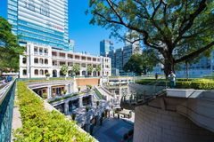 Tsim Sha Tsui, Hong Kong - 10 janvier 2018 : Héritage 1881, Image stock