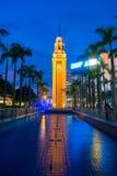 Tsim Sha Tsui, Hong Kong - 23. September 2016: Glockenturm in TW Lizenzfreies Stockfoto