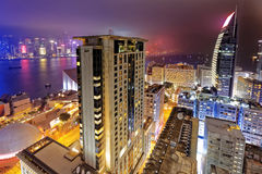 Tsim Sha Tsui night Royalty Free Stock Photography