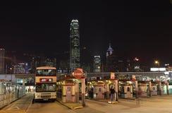 Tsim Sha Tsui Station, Hongkong. Bus Station at Tsim Sha Tsui Ferry Terminal in Hong Kong. Photo taken at 25th of November 2010 Stock Photo