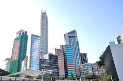 Tsim Sha Tsui Tall buildings Stock Photos