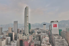 Tsim Tsa Tsui and Hong Kong Island Royalty Free Stock Photos