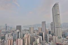 Tsim Tsa Tsui and Hong Kong Island Stock Photo