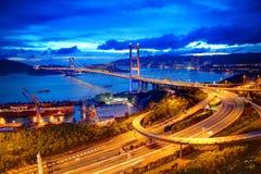 tsing的桥梁ma 库存照片