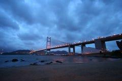 Tsing MA Brücke stockfotos