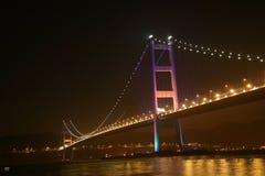 Tsing MA Brücke Stockbild