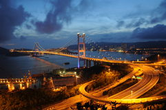Tsing MA Brücke Lizenzfreie Stockbilder