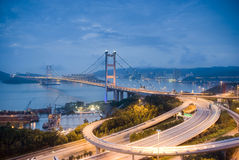 Tsing Ma Bridge Stock Images