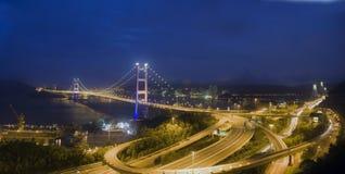Tsing ma Bridge Royalty Free Stock Image