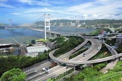 Tsing Ma Bridge Stock Images
