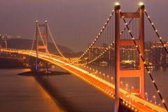 Tsing Ma Bridge Royalty Free Stock Photos