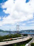 Tsing Ma Bridge Stock Photography
