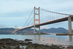 Tsing Ma Bridge Stock Photos