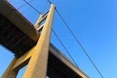 Tsing Ma Bridge Stock Image