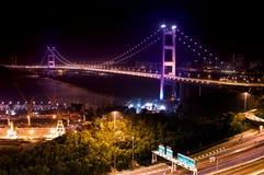 Tsing Ma Bridge, Hong Kong Royalty Free Stock Photography
