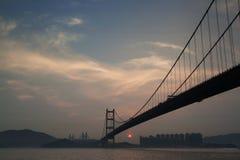 Tsing Ma Bridge, Hong Kong Royalty Free Stock Photos