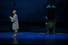 Tsing Yi-de opera van monniksjiangxi een weeghaak Stock Fotografie