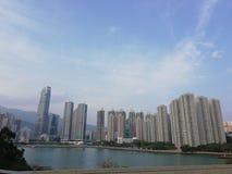 Tsing Yi Harbour Royaltyfria Bilder