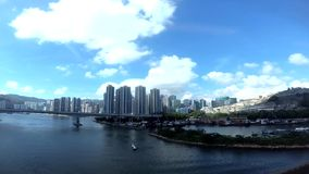 Tsing Yi North Bridge, Gin Drinkers Bay, en het Westen Kowloon