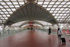 TsingDao järnvägsstation Arkivbilder