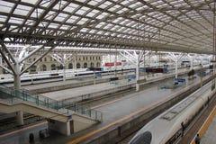 TsingDao järnvägsstation Royaltyfri Bild