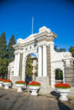 Tsinghua landmarks Royalty Free Stock Photography