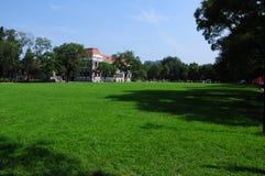 Tsinghua universitetar Royaltyfri Foto