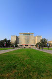 Tsinghua university campus architecture and landscape in China Royalty Free Stock Photos