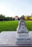 Tsinghua University campus Stock Image