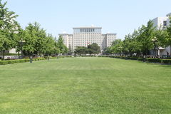 Tsinghua University campus landscape Royalty Free Stock Photo
