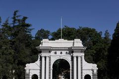 Tsinghua University Park Church Royalty Free Stock Photography