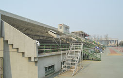 Tsinghua University Playground bleachers Royalty Free Stock Photography