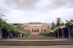Tsinghua University in spring 3 Stock Images