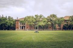 Tsinghua University in spring Stock Photo