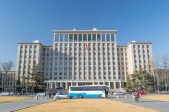 Tsinghua University views Stock Photography